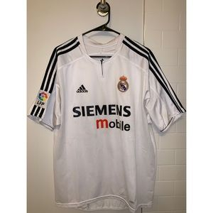RETRO ADIDAS REAL MADRID DAVID BECKHAM JERSEY